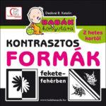 Kontrasztosformák fekete-fehérben 2 hetes kortól - Babák könyvtára - Babák könyvtára - Deákné B. Katalin