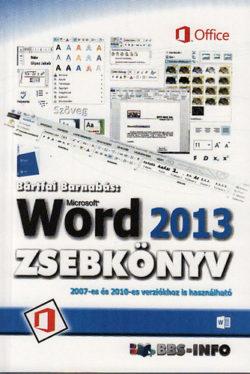 Microsoft Word 2013 zsebkönyv - Bártfai Barnabás