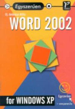 Word 2002 for Windows (Egyszerűen) - Ambrózai Attila Ifj.