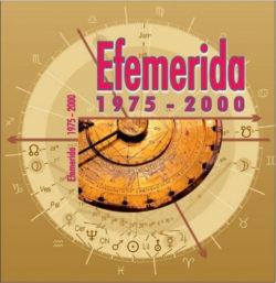 Efemerida 1975-2000 -