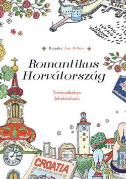 Romantikus Horvátország - Színezőkönyv felnőtteknek - Lee Il-Sun