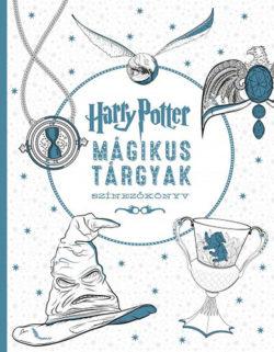Harry Potter - Mágikus tárgyak színezőkönyv - Várlaki Tibor (szerk.)