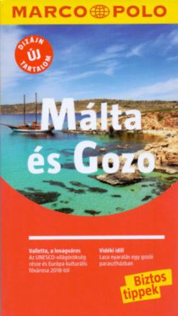 Málta és Gozo - Marco Polo - Útitérképpel - Klaus Bötig