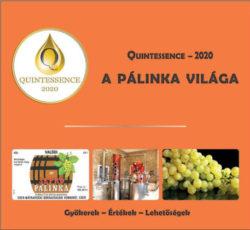 Quintessence - 2020 - A pálinka világa - Takács László