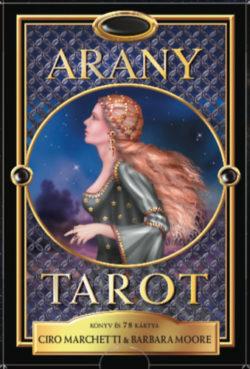Arany tarot - Könyv és 78 kártya - Barbara Moore