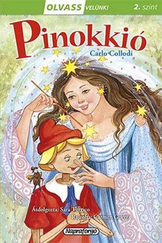 Olvass velünk! (2) - Pinokkió - Sara Torrico; Carlo Collodi