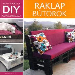 DIY - Raklap bútorok - Kalapp Attila