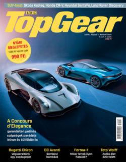 BBC TopGear II. évfolyam 7-8. szám - 2019. július - augusztus - autós magazin -
