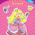 Csillámvarázs matricás kifestő - Hercegnők -