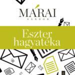 Eszter hagyatéka - Márai Sándor