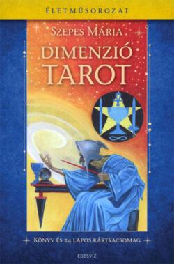 Dimenziótarot - Könyv és 24 lapos kártyacsomag - Szepes Mária
